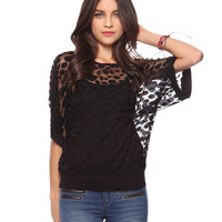 Lots-O-Dots Lace Top