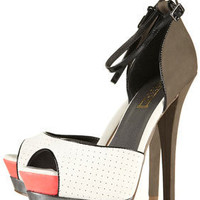 LOADED Platform Sandals - Heels  - Shoes