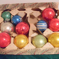 Vintage Glass Ornaments