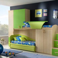 Interior Children Bedroom decorating Idea With Kids Fun Design | Home Interior Design | Furniture | Architecture