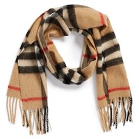 Girl's Burberry Cashmere Scarf