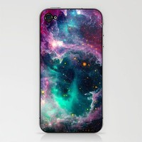 Pillars of Star Formation iPhone & iPod Skin by Starstuff | Society6