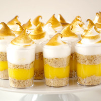 Lemon Meringue Pie Shooters | Honest Cooking