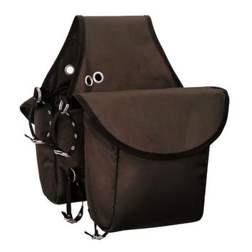 Weaver Leather Insulated Nylon Saddle Bag, 9-3/4 in. W x 11-1/2 in. L x 4-1/2 in. D.