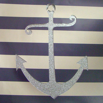 Anchor Cutout Print // Original 12x12 Cutout 3D Print for Home, Dorm, or Office Decor and Gifts