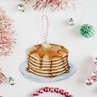 Everyday is a Holiday — Stack of Pancakes ornament