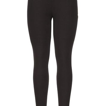Brown ankle length legging