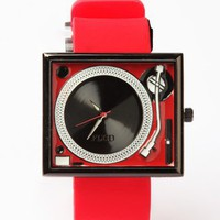 Flud Watches Tableturns Watch - Red / Black - Punk.com