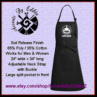 LAND SHARK Chefs Apron Great for Men and Pizza Delivery Guys