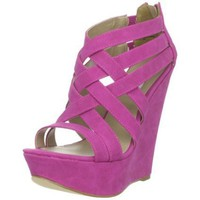 Steve Madden Women's Xcess Wedge Sandal - designer shoes, handbags, jewelry, watches, and fashion accessories | endless.com