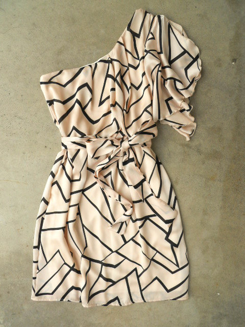Geometric Angles Dress
