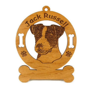 3416 Jack Russell Parsons Head  Personalized With Your Dog's Name