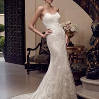 Casablanca Bridal 2201 Fit and Flare Wedding Dress
