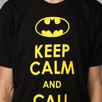 Keep Calm And Call Batman Tee