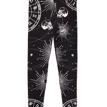 Bewitched Hand Mystic Leggings - PLASTICLAND