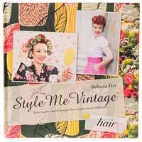 Style Me Vintage: Hair Styling Book - PLASTICLAND