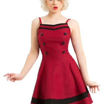 Curtain Call Swing Dress - PLASTICLAND
