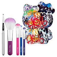 Sephora: Hello Kitty Graffiti 5-Piece Brush Set: Brush Sets