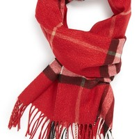 Women's Burberry Giant Check Cashmere Blend Scarf