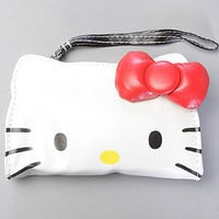 The Hello Kitty Die Cut Wristlet