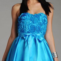 Josh and Jazz Semi Formal Dress 891903 - $110