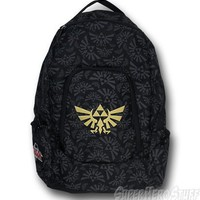 Zelda Crest All-Over Print Backpack