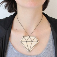 snugdiamond  DIY necklace by snugstudio on Etsy