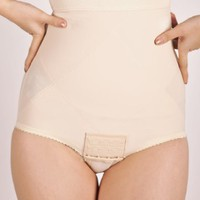 Wink Flats Post-pregnancy Belly Compression Postpartum Girdle, Medium, Beige