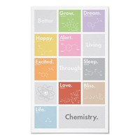 Better Living Through Chemistry Poster from Zazzle.com