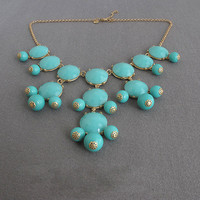 Handmade Bubble Necklace - Bib Neck.. on Luulla