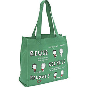 Angry Little Girls Reuse Recycle Relove Tote - eBags.com