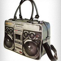 80's Ghetto Blaster Weekend Bag