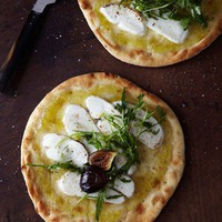Fig  goat cheese flatbread.