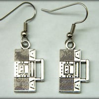 Radio Earrings Dangle
