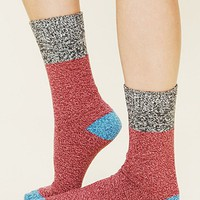 Free People Colorblock Boot Sock