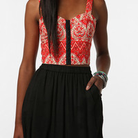 Lucca Couture Cutout Bustier