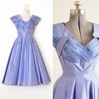 Periwinkle Dream Dress XS S by HeirloomAttire on Etsy