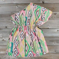 Draped In Ikat Dress, Sweet Women&#x27;s Country Clothing