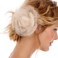 Untamed Petals ? #045 - Imported Silk Tulle Rose