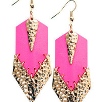 GYPSY WARRIOR - Neon Jem Earrings