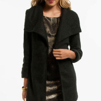 Librarian Belted Coat $56