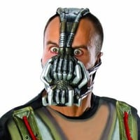 Amazon.com: Rubie's Costume Co Batman Dark Knight Rises Three-Fourth Bane Mask, Multi-Colored, One Size: Clothing