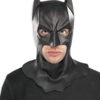 Amazon.com: The Dark Knight Adult Batman Full Overhead Latex Mask, Black, One Size: Clothing
