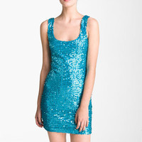 As U Wish Sequin Tank Dress (Juniors) | Nordstrom