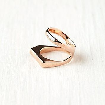 Free People Linear Knuckle Ring
