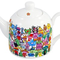 Street Market  Jon Burgerman - Doodle Teapot