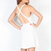 BOULEE Ryder Criss Cross Dress