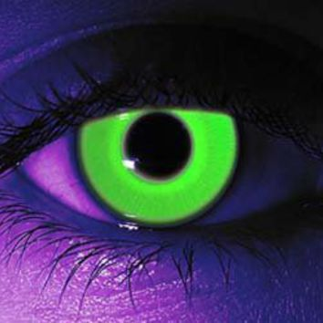 Glow In The Dark Contact Lenses from thisiswhyimbroke.com