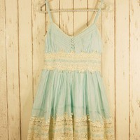 Got a Date Mint Lace Dress - Dress - Retro, Indie and Unique Fashion