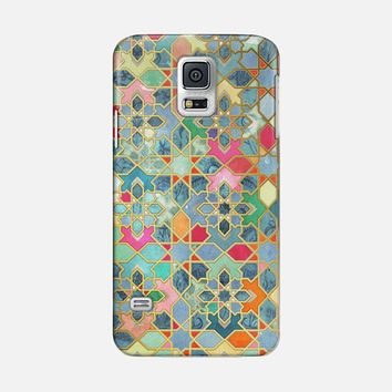 Gilt & Glory - Colorful Moroccan Mosaic Galaxy S5 case by Micklyn Le Feuvre | Casetify